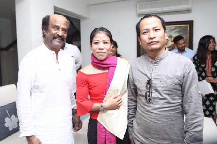 Magnificent Mary meets Superstar Rajnikanth ahead of World Championships