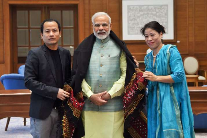 PM Modi hails Mary Kom after historic gold at Women's World Boxing Championships