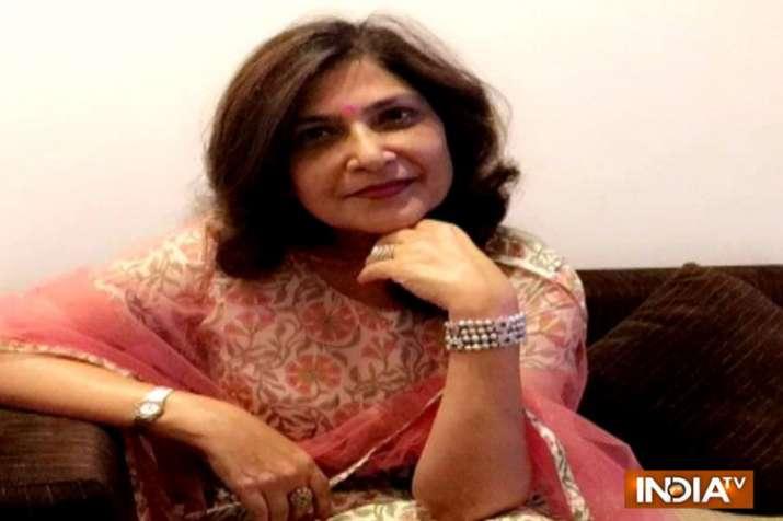 Fashion designer Maya Lakhani.