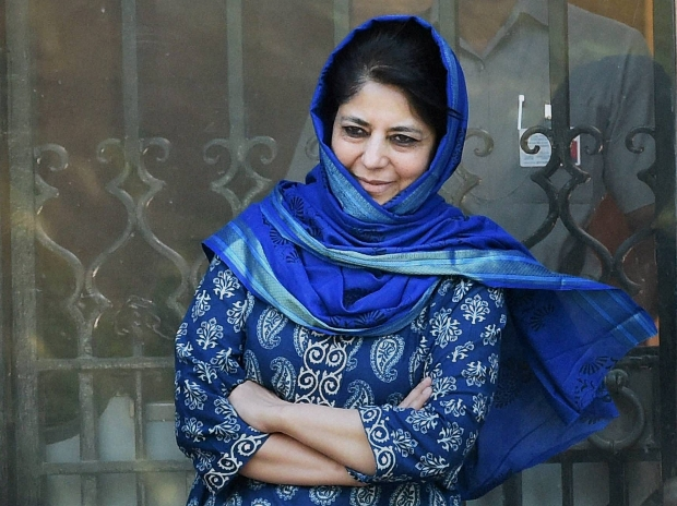 Jammu and Kashmir: PDP chief Mehbooba Mufti stakes claim to form govt, claims support of Congress, NC
