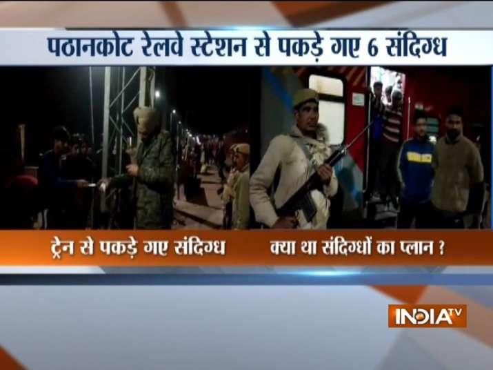 Punjab police detains 3 from J-K at Pathankot railway