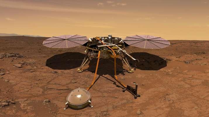 Mars InSight landing site may look like a stadium parking