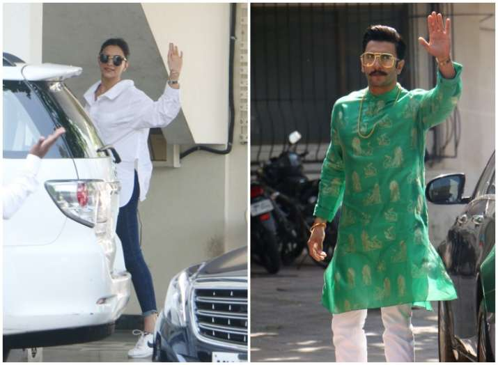 Deepveer Marriage Deepika Padukone Ranveer Singh Visit Sanjay