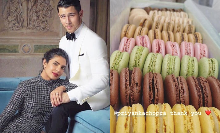 priyanka chopra nick jonas wedding sweets