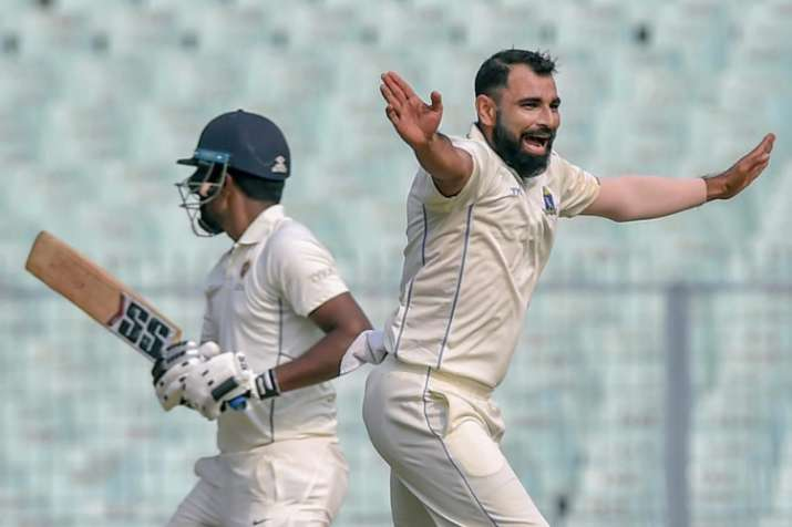 Mohammed Shami goes against BCCI's wishes, bowls 26 overs in Ranji tie