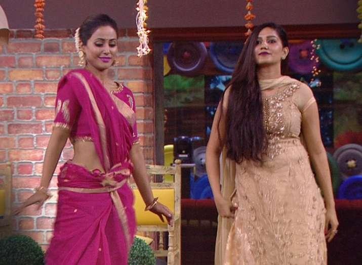 Bigg Boss 11 Fame Sapna Choudhary Thanks Komolika Aka Hina Khan With