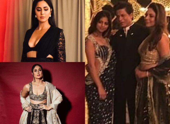 India Tv - Alia Bhatt, Katrina Kaif, Kareena Kapoor Khan and others ooze elegance at Shah Rukh Khan's Diwali party