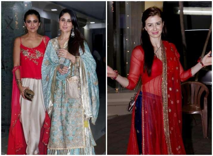 7c2254b1ac Diwali Party 2018 Pics: Kareena Kapoor Khan dazzles, Arbaaz Khan ...