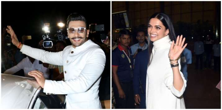 India Tv - Deepika and Ranveer