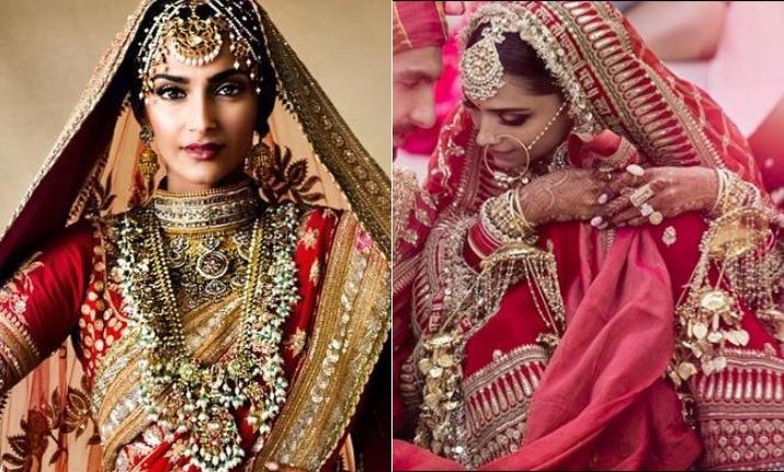 Deepika Padukone's Anand Karaj bridal attire reminds us of Sonam