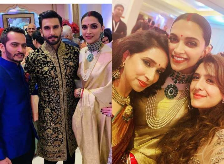 Inside Pictures And Videos From Deepika Padukone And Ranveer Singhs