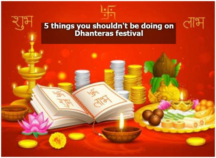 5 things you shouldn't be doing on Dhanteras festival | Books News ...