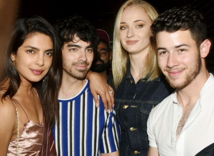 India Tv - Priyanka Chopra and Nick Jonas celebrate their last bachelorette with family and friends
