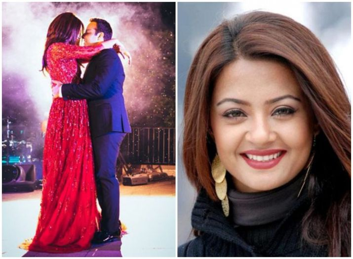 Image result for surveen chawla in pregnancy