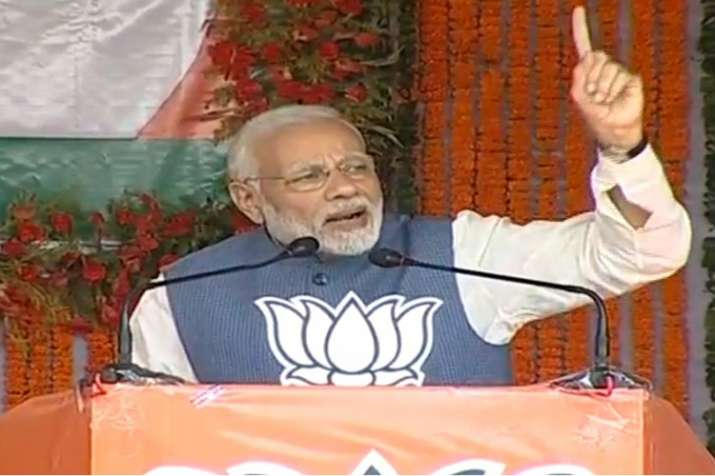 PM Modi in Chhattisgarh : 'People disproved that it was