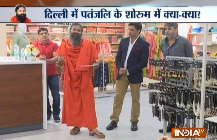 Baba Ramdev launches 'Patanjali Paridhan' store in New