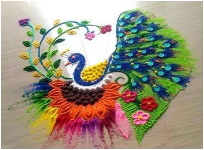 Diwali Rangoli 2018 Decorate Your Home With Easy Rangoli Design