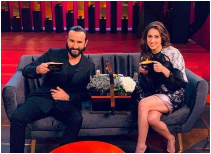 India Tv - Watch Sara Ali Khan calling Kartik Aaryan 'damn cute' once again, what Kartik has to say