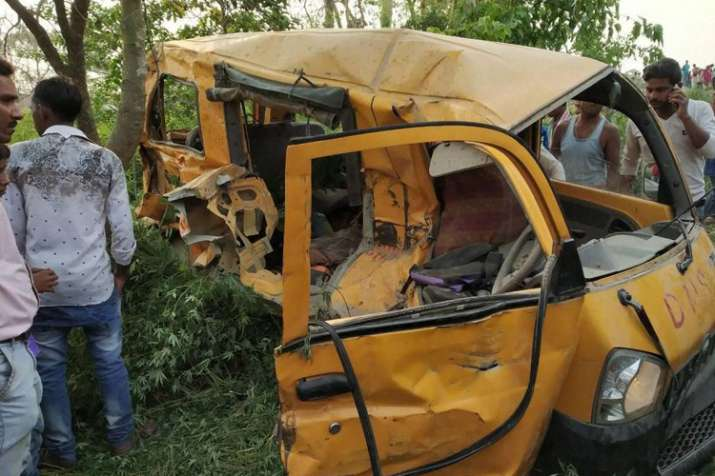 Madhya Pradesh: 10, including 8 children, killed as bus