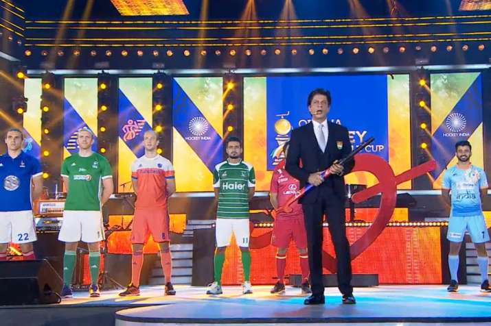 India Tv - Live Stream Hockey World Cup 2018 Opening Ceremony: Shah Rukh shares a few words of wisdom