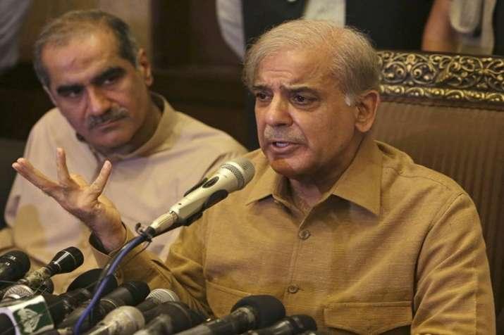 PML-N Chief Shahbaz Sharif