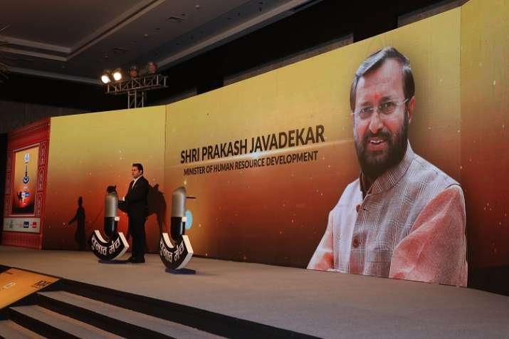 India Tv - HRD Minister Prakash Javdekar to take the stage onIndia TV's Chunav Manch