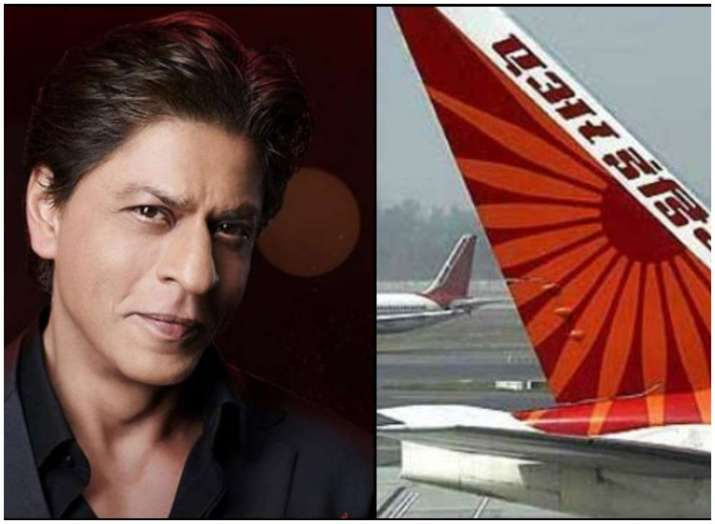 Shah Rukh Khan 'unofficially' declares himself as ambassador of Air India
