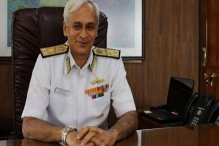 Chief of Naval Staff Admiral Sunil Lanba