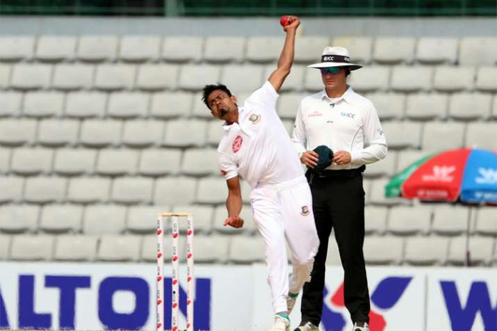 1st Test, 3rd Day: Taijul Islam claims second 5-wicket haul against Zimbabwe