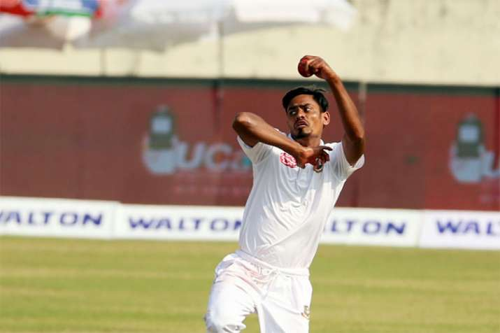 2nd Test: Taijul Islam's five-for helps Bangladesh bowl out Zimbabwe for 304 on Day 3