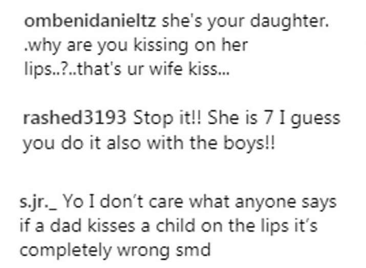 India Tv - David Beckham gets trolled for kissing daughter Harper on lips
