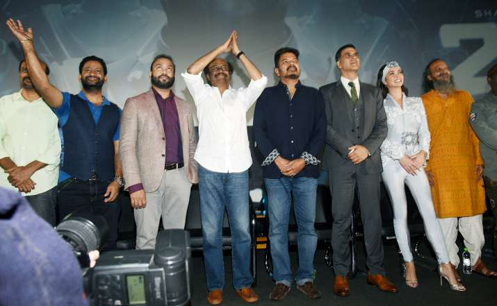 India Tv - 2.0 Trailer Launch Event in Chennai