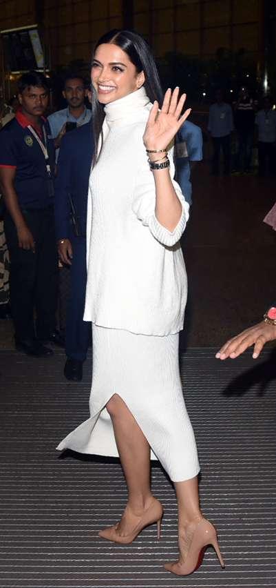 India Tv - Deepika Padukone, Ranveer Singh leave for Italy