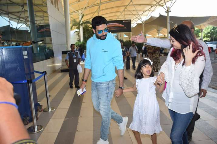 Abhishek Bachchan takes birthday lady Aishwarya Rai and daughter Aaradhya on Goa trip, see pics