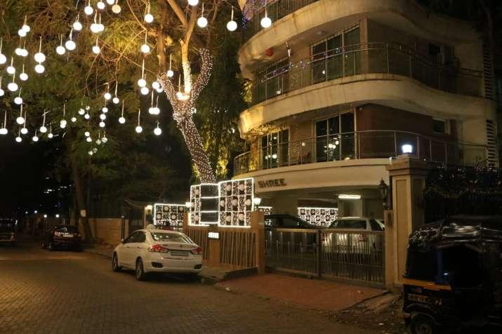 India Tv - Ranveer Singh's house is all decked up to welcome new bride Deepika Padukone