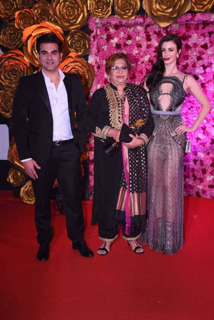 India Tv - Arbaaz Khan with gf and mother