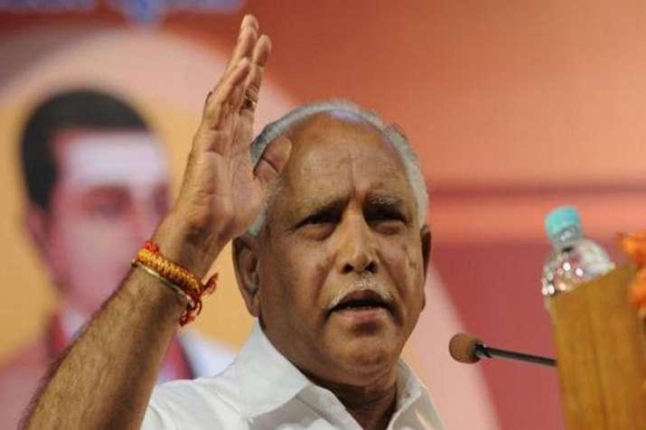 Karnataka BJP chief B S Yeddyurappa