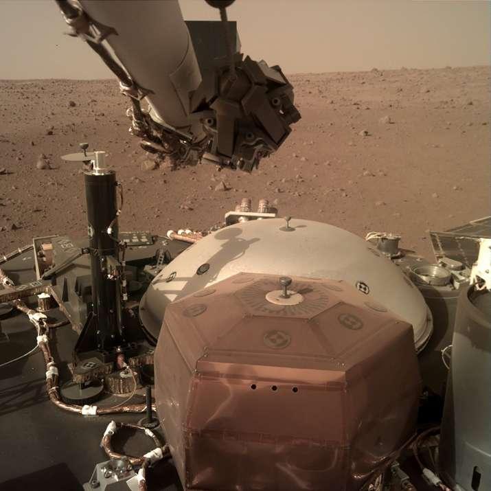NASA's InSight lander 'hears' Martian wind