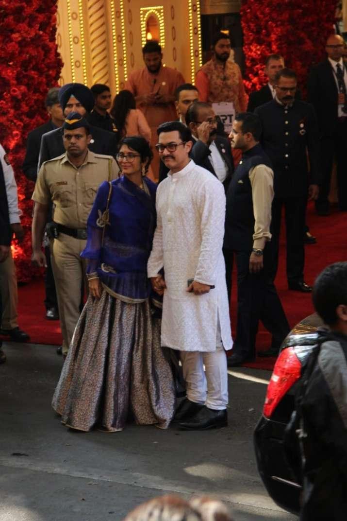 India Tv - Aamir Khan with wife Kiran Rao