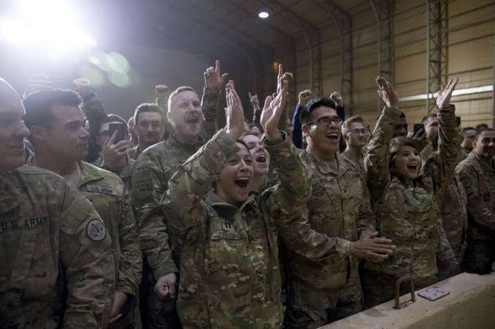 India Tv - Donald Trump makes surprise visit to Iraq