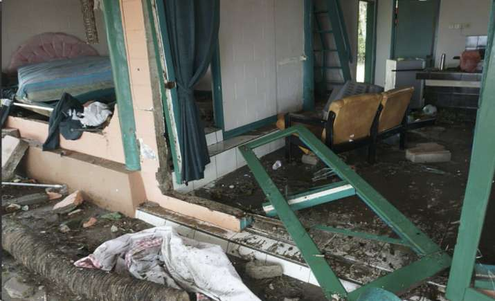 India Tv - At least nine hotels have been destroyed in the disaster