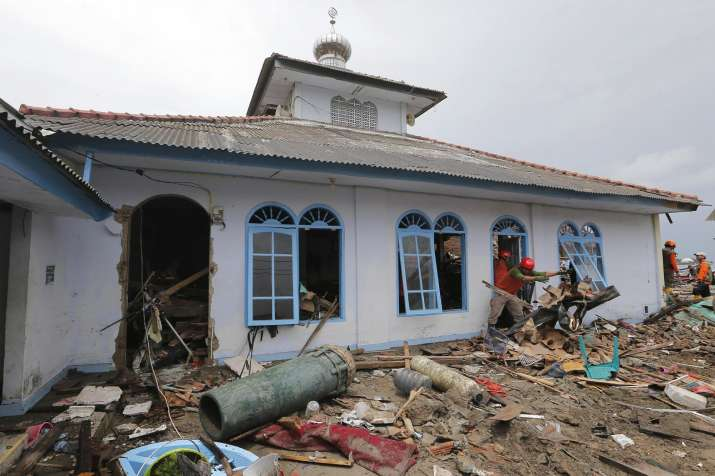 India Tv - Indonesia tsunami leaves behind trail of destruction