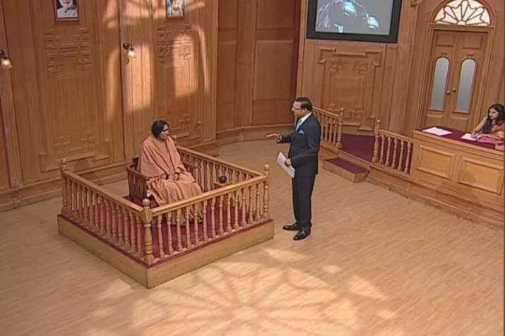 Sadhvi Ritambhara in Aap Ki Adalat: Congress should back