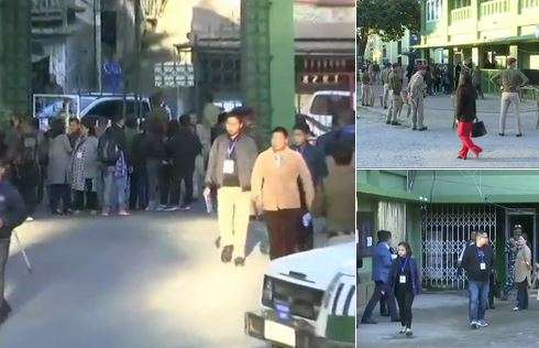 India Tv - Mizoram Assembly election results live updates, All set for Mizoram Assembly election results counting of votes in Aizawl. Tight security in place outside counting centre in Mizoram capital.