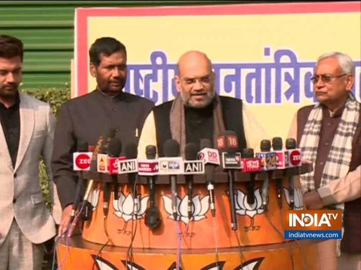Lok Sabha Elections 2019: NDA seat sharing announced
