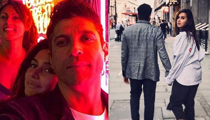 This cosy picture of Farhan Akhtar and Shibani Dandekar is