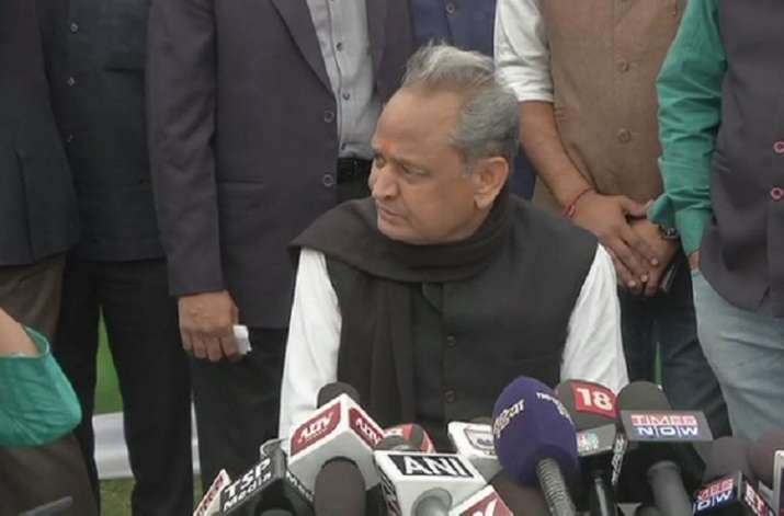 India Tv - Vidhan Sabha results LIVE: Sources within Congress say Ashok Gehlot is leading the race with Sachin Pilot to be Rajasthan CM.