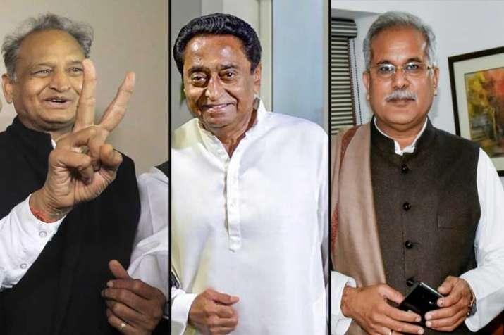 Kamal Nath in MP, Baghel in Chhattisgarh, Gehlot in