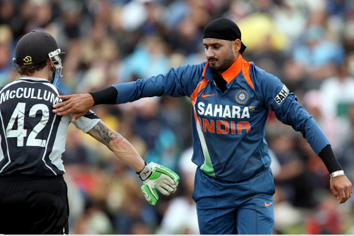 India Tv - A file image of Harbhajan Singh.