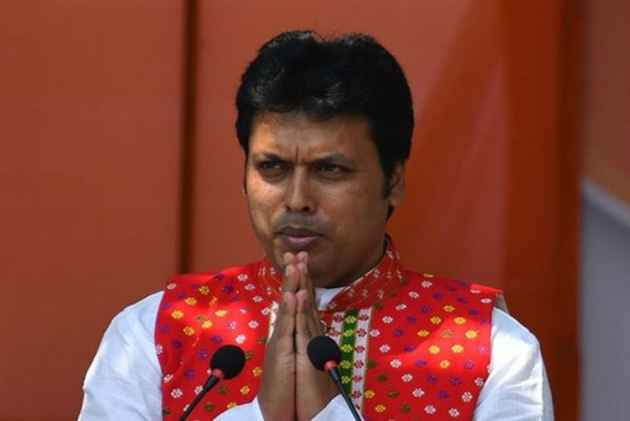 India Tv - Tripura Chief Minister Biplab Deb
